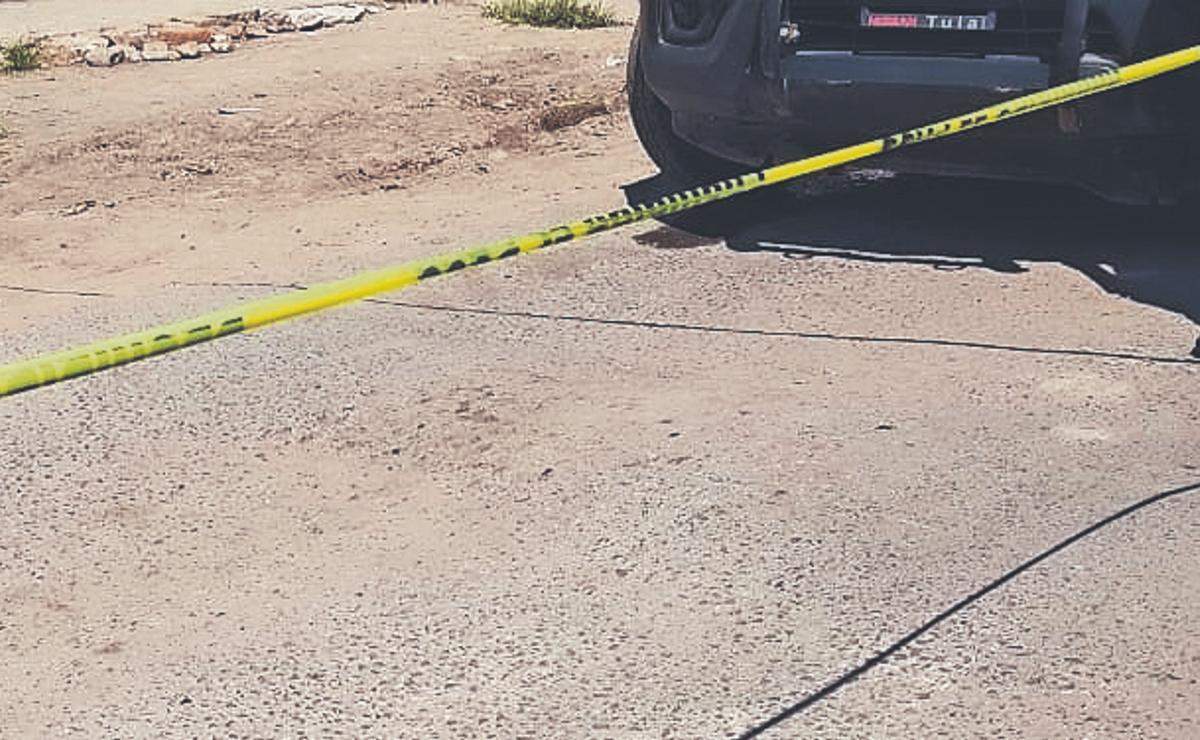 Asesinan de un tiro en la piocha a joven checador de transporte público, en Edomex