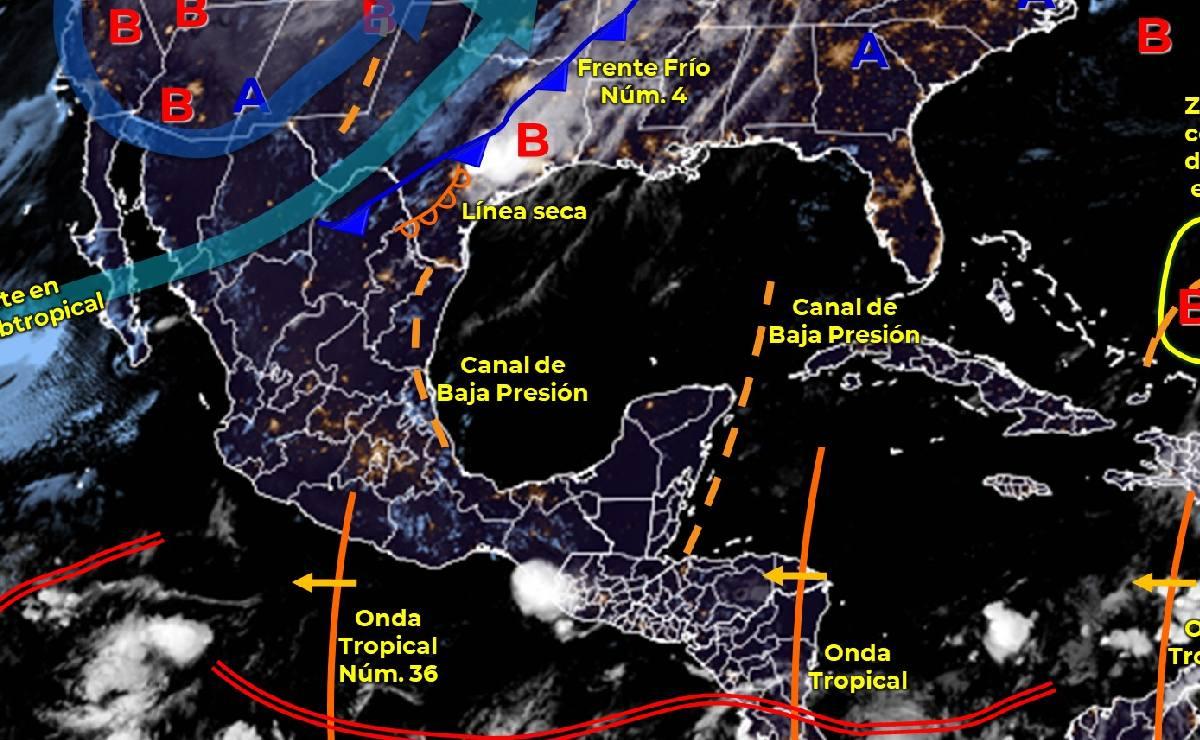 ¿Cómo va a estar el clima hoy jueves 14 de octubre en CDMX, Edomex y resto del país?