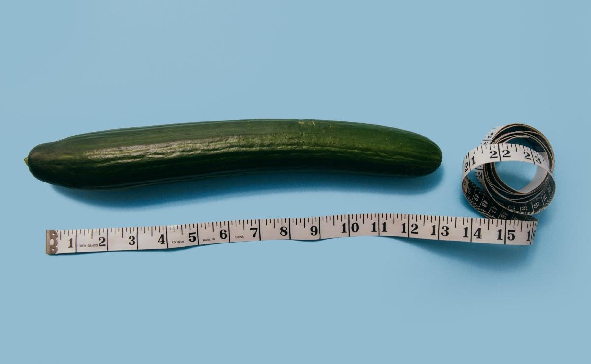 ¿Cuánto tiene que medir el pene para considerarlo grande?