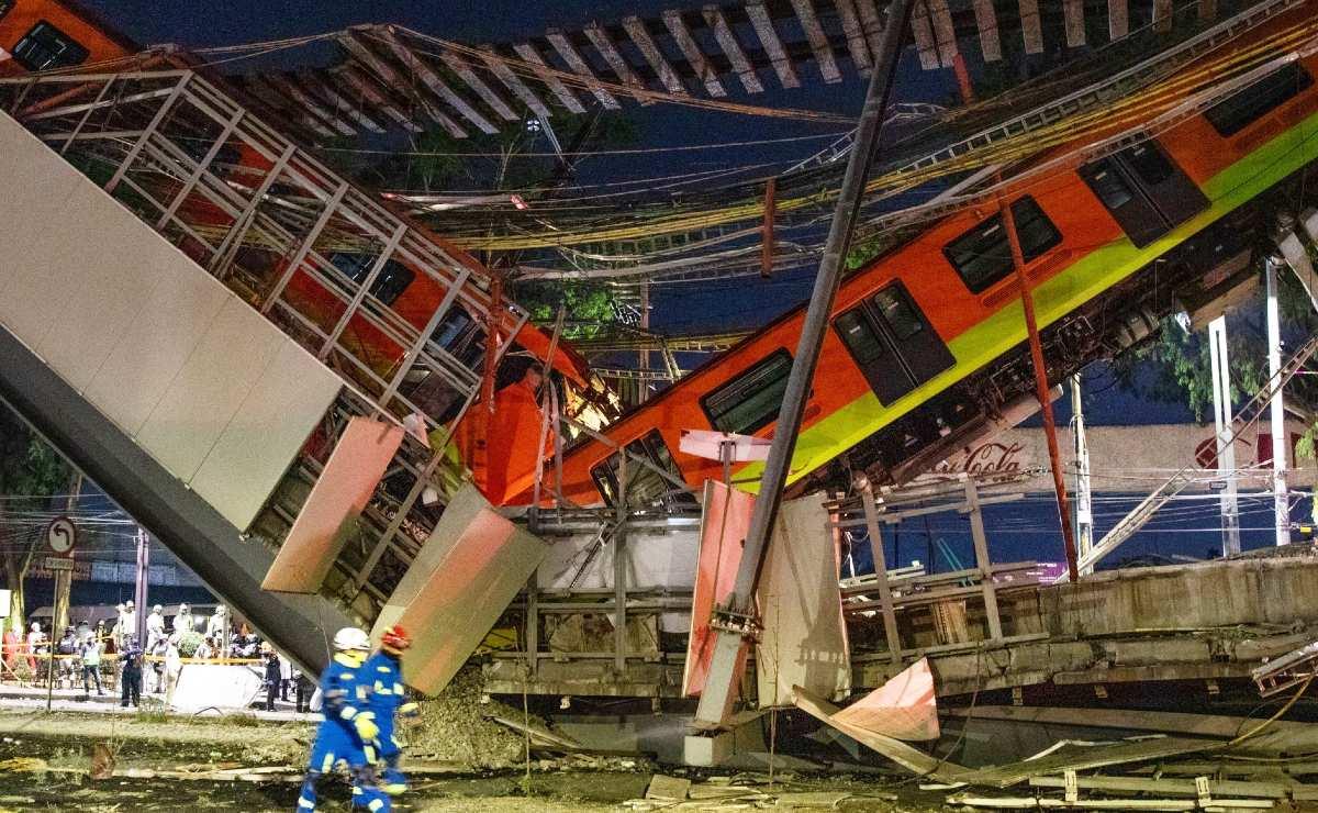 Falla fue súbita y en 1.9 segundos, Fiscalía CDMX presenta informe de colapso en L12 del Metro