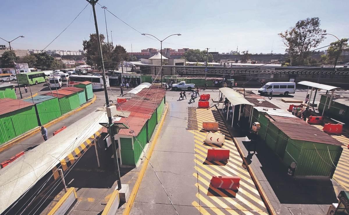Harán cierre parcial de andenes en paradero de Pantitlán, por fisuras en el sótano