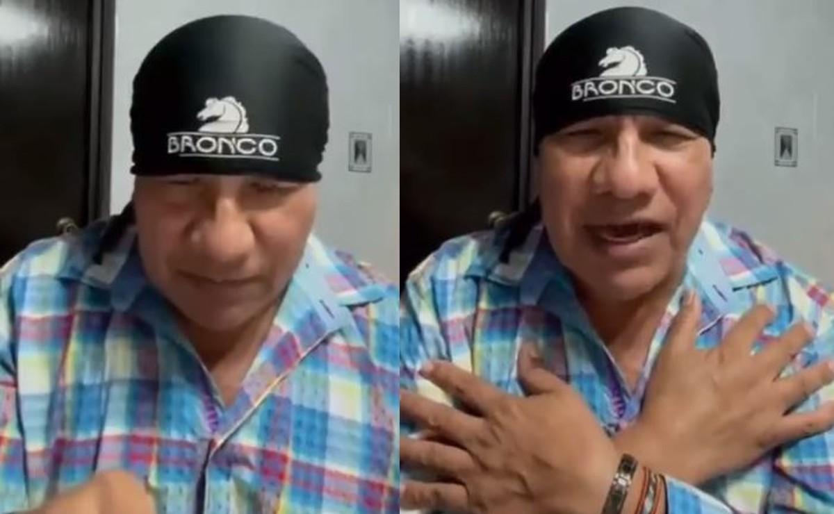 ¿Cómo sigue el líder de Bronco, Lupe Esparza tras dar positivo a Covid?