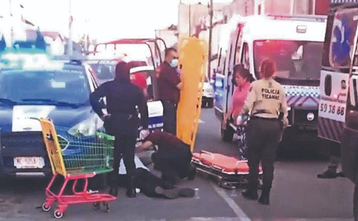 Policía del Edomex es acribillado tras intentar detener a un asaltante de Bodega Aurrerá