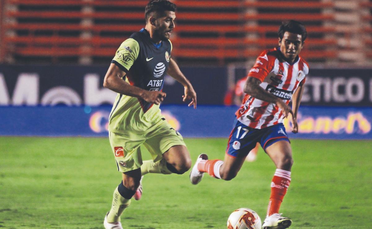 Sin toda su plantilla, América se prepara para el duelo contra el Atlético de San Luis