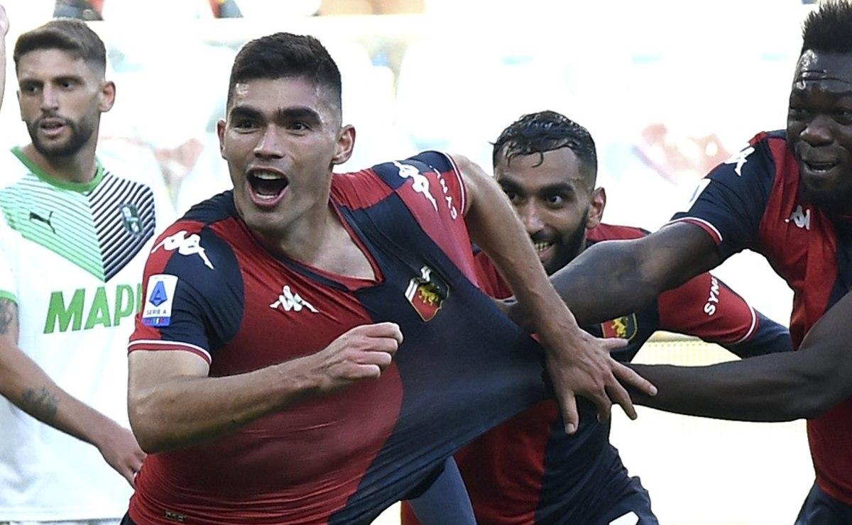 Johan Vásquez debuta con gol en la Serie A y evita la derrota del Genoa