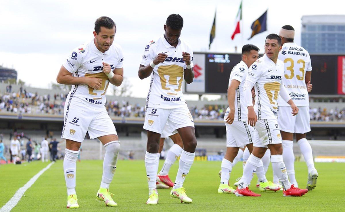 Pumas vence sobre la hora al Juárez, en el regreso del público a CU