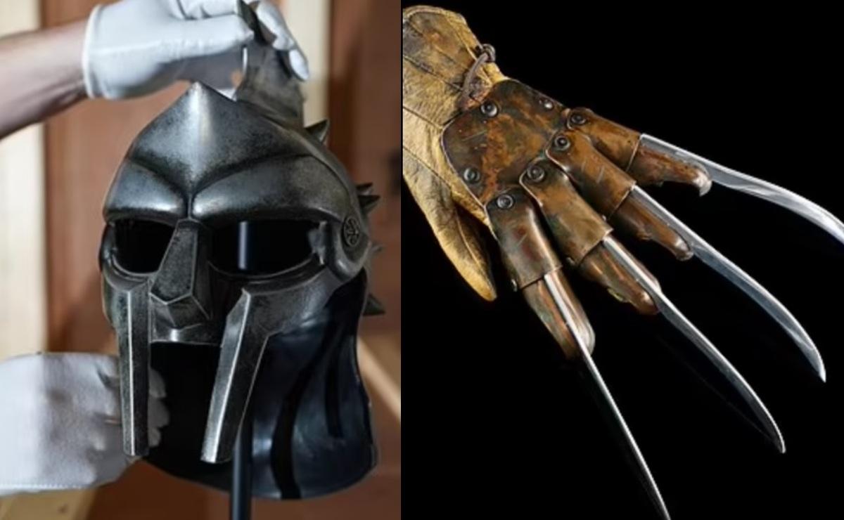 Subastarán disfraces y accesorios usadas en emblemáticas películas de Hollywood, en EU