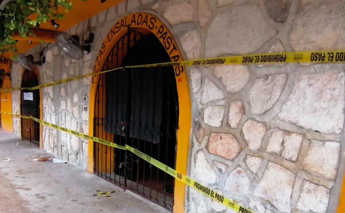 Balacera entre delincuentes en restaurante de Tulum deja 2 turistas muertas y 3 heridos