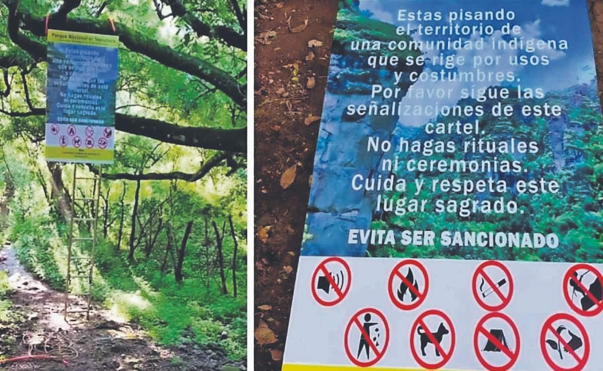 Comuneros imponen cobro para recorrer el parque nacional Tepozteco, en Morelos