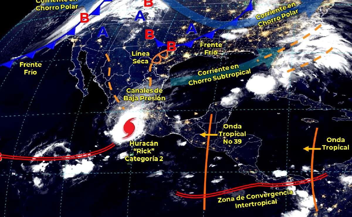 ¿Cómo va a estar el clima hoy lunes 25 de octubre en CDMX, Edomex y resto del país?