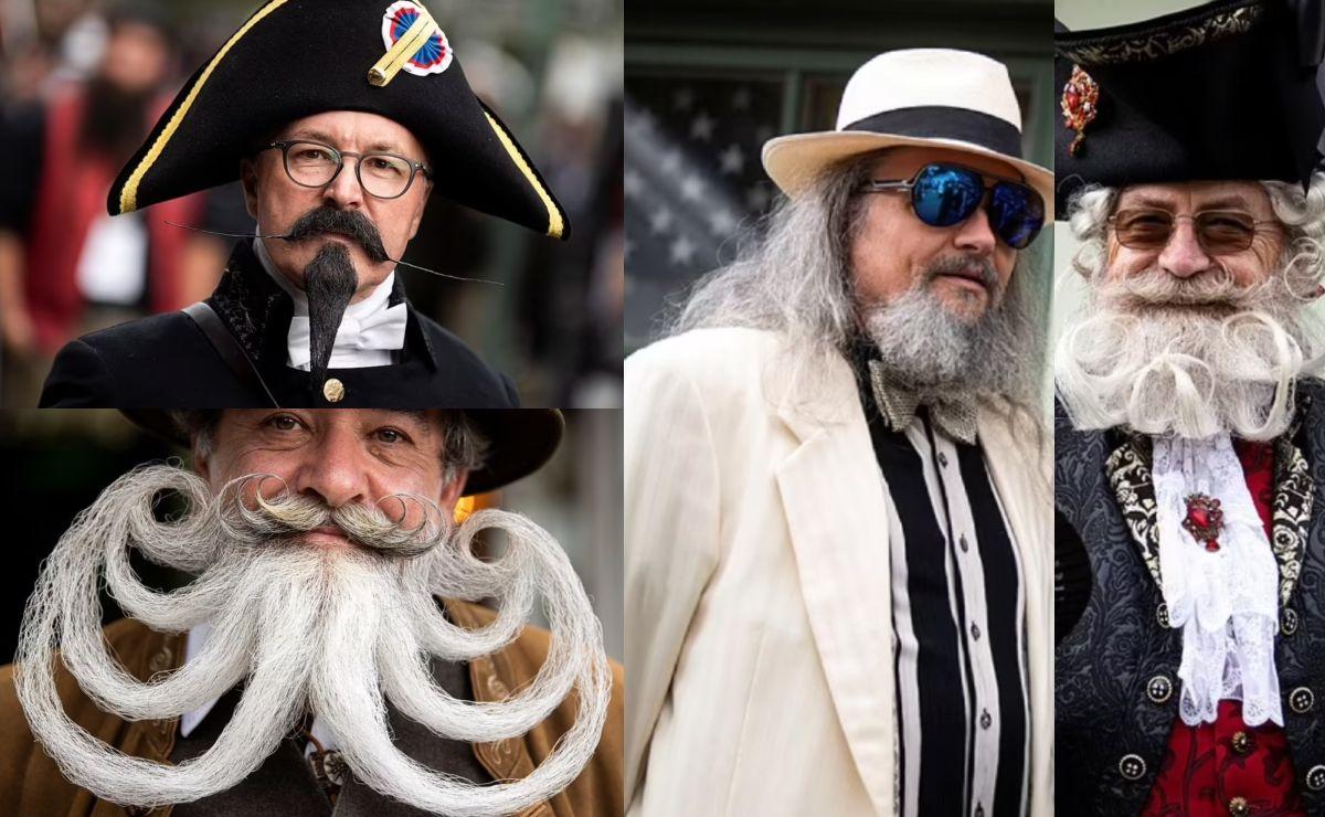 Concurso del bigote más bello se hace viral en el mundo