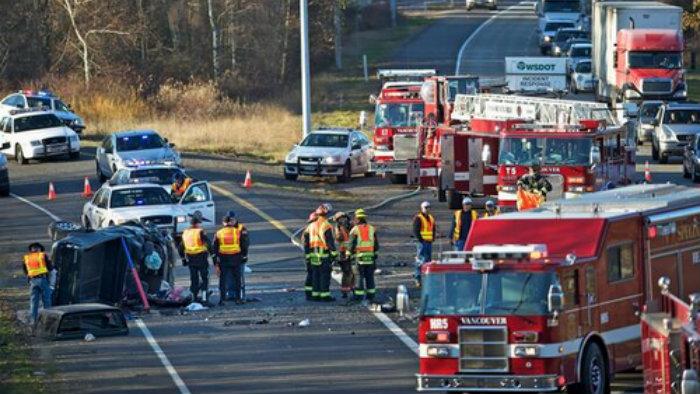 accidente en Vancouver