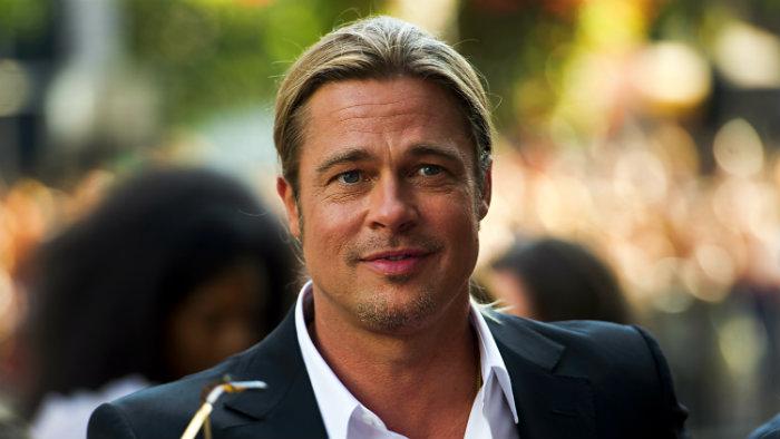 Brad Pitt sorprende a mujer en su boda