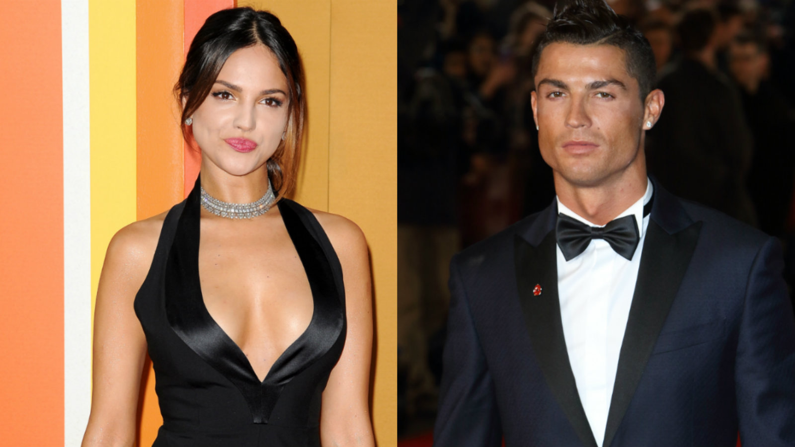 Eiza González y Cristiano Ronaldo Foto: Photoamc