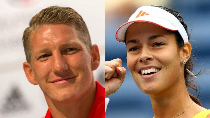 Schweinsteger cambia a su novia por una sexy tenista