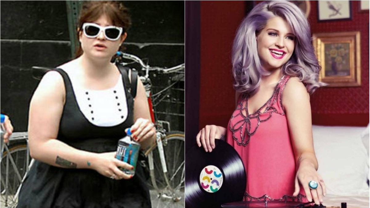 Kelly Osbourne ha perdido peso, sin tener que hacer muchos sacrificios
