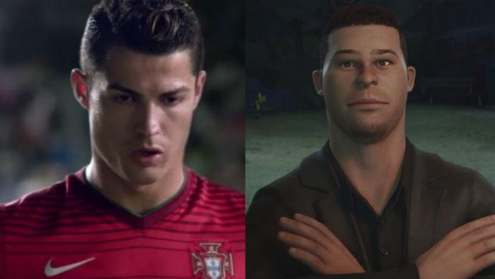 Cristiano Ronaldo, Ronaldo Nazario