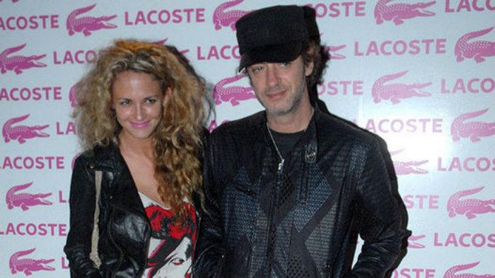 Gustavo Cerati y Leonora Balcera