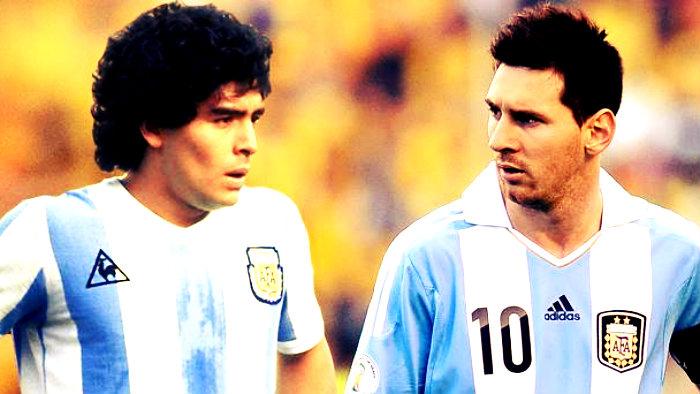 Una Pulga acecha la grandeza de Maradona