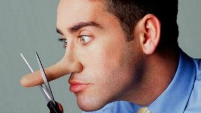 Cosas por lo que los hombres mienten