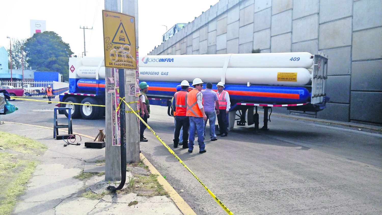 contenedor de gas nitrógeno (Foto: Gerardo Mendoza)