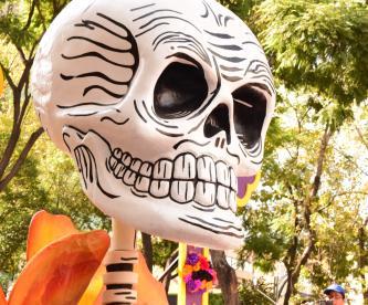 El Magno Desfile de Día de Muertos reunió a miles de personas. >>>FOTO: ANTONIETA RAMOS<<<