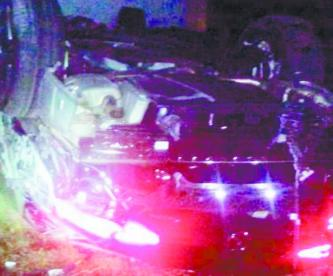 Accidente Atlacomulco Mercedes Prensado