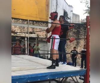 boxeador invidente México campeón