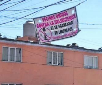 vecinos mantas amenaza linchan ladrones delincuentes Villa Hogar