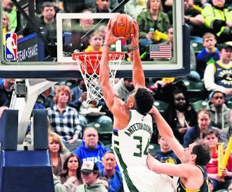 Antetokounmpo Harden Juego de las Estrellas en la mejor forma NBA