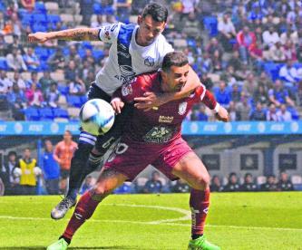 Puebla Pachuca empate estadio Cuauhtémoc