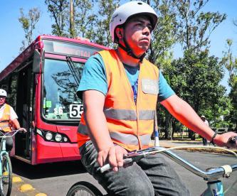 Bicicletas Escuela Conductores Metrobús CDMX Bosque de Chapultepec