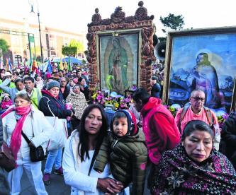 Peregrinación Toluca Basílica de Guadalupe