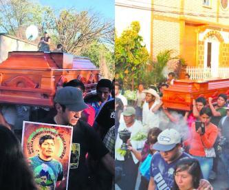 Último adiós activista asesinado Samir Flores Morelos