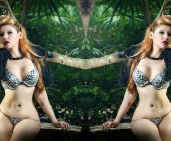 Sirenita Fuentes Actriz porno Expo Sexo y Esrotismo