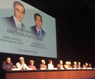 Estado disculpa pública matanza Tec Monterrey