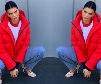 Kendall Jenner mini tanga espejo