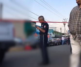 Desconocidos asesinan dos balazos hombre Chalco
