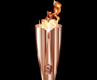 Presentan en Japón la antorcha olímpica para Tokio 2020
