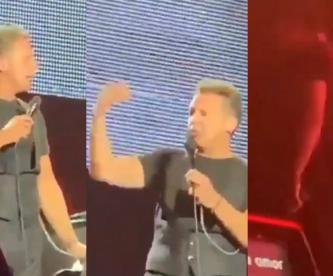 Luis Miguel arremete golpes sonidista concierto