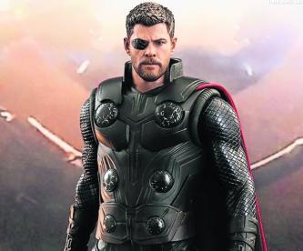 Icónica bienvenida Thor Deadpool