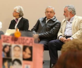 Andrés Manuel López Obrador reinstala Sistema Nacional de Búsqueda
