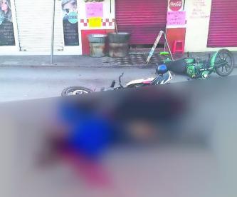 Motociclista Choca Muere Lesionado Morelos