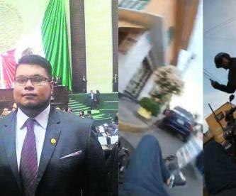 Diputado echa culpa motociclista accidente Nezahualcóyotl