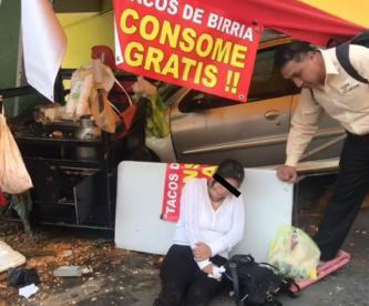 mujer atropellada venustiano carranza tacos de barbacoa