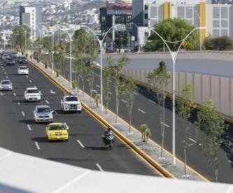 Gobernador inaugura Viaducto Centro Sur