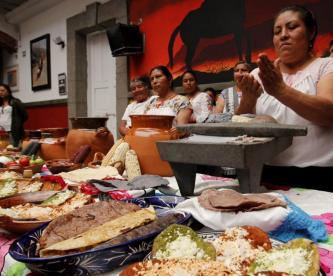 Festival de la Gordita La Resurrección Puebla