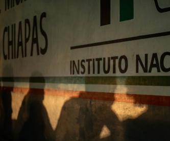 Reportan fuga masiva de migrantes en Tapachula Chiapas