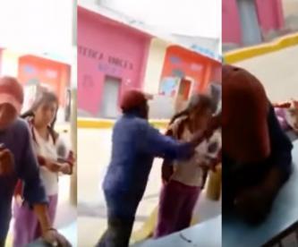 Difunden video de un hombre que golpea a una mujer y se burla en Tlaxcala