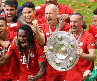 Bayern Munich consigue séptimo título seguido en Alemania